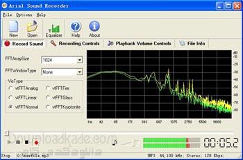 ضبط حرفه ای صداها با Arial Sound Recorder 1.7.5