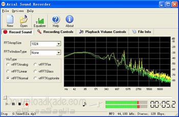      Arial Sound Recorder 1.7.5