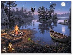 Fairy Lake 3D HD Screensaver