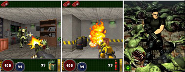 alien shooter 3d-mobile