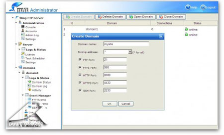 Wing FTP Server v3.3.5 Corporate Edition