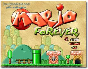 بازی قارچ خور برای کامپیوتر Mario Forever v4.15