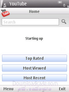 نمایش ویدیو های سایت یوتوب در موبایل با YouTube 2.0.14
