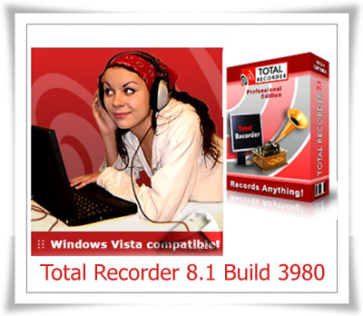 Total Recorder 8.1 Build 3980 ضبط کننده صدا