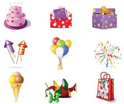 آیکون جشن تولد