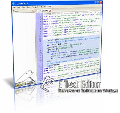 E-TextEditor 2.0