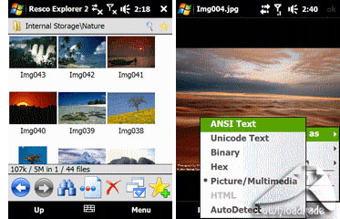 Resco File Explorer 2010 v8.10