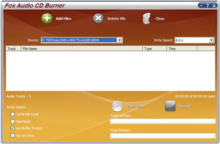 Fox Audio CD Burner