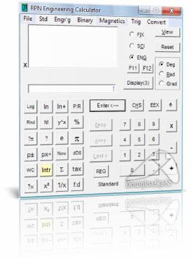 RPN Engineering Calculator