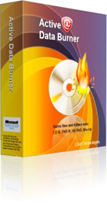 Active Data CD/DVD/Blu-Ray Burner