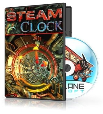 Steam Clock 3D Screensaver 1.0 Build 2