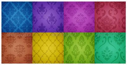 Damask-Pattern-Backgrounds
