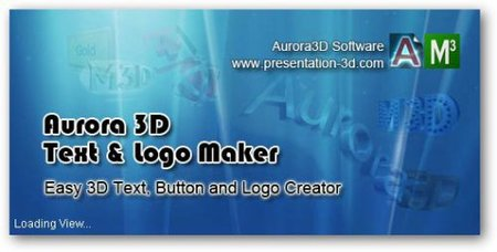 Aurora 3D Text & Logo Maker