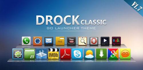 Drock GO Launcher EX Theme v1.7