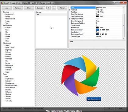 نرم افزار اسکرین شات برای ویندوز ShareX 11.2.1