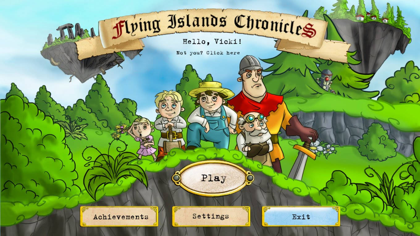 دانلود بازی Flying Islands Chronicles