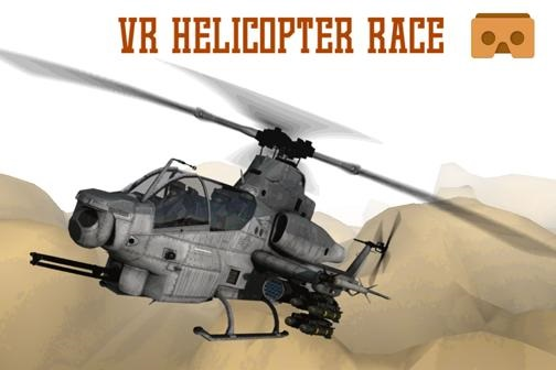 VR Helicopter Racing