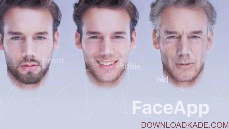 دانلود FaceApp برنامه تغییر چهره فیس اپ اندروید