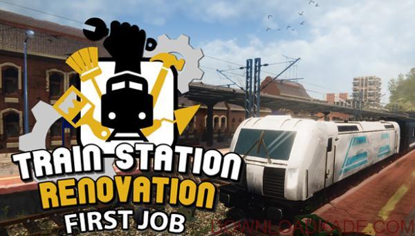 دانلود نسخه فشرده بازیTrain Station Renovation برای PC